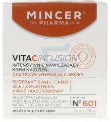 Mincer Pharma  Vitacinfusion Intensywnie nawilżający krem do twarzy na dzień 50 ml
