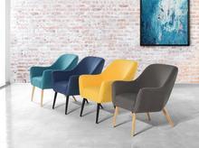 Beliani Fotel szmaragdowy - wypoczynkowy - do salonu - tapicerowany - LOKEN zielony