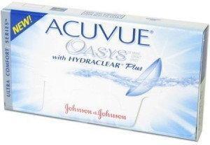 Johnson&Johnson Acuvue Oasys z Hydraclear Plus 6 szt.