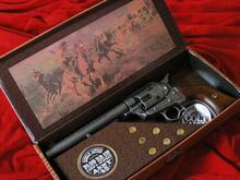 Hiszpania COLT PEACE MAKER 1873r SINGLE ACTION ARMY CAL 45 stalowy drewno