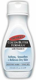 Palmers Cocoa BUTTER Softens, Smoothers & Relieves Dry Skin Balsam nawilżający do ciała z witaminą E 250 ml