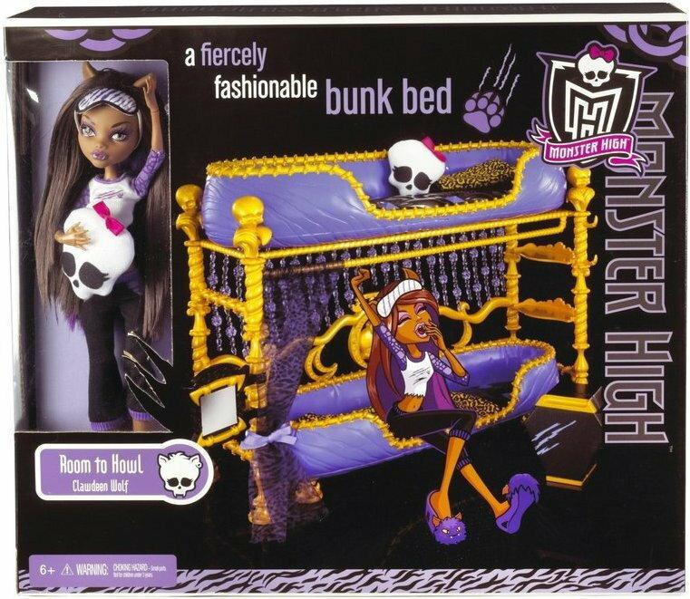 Mattel Barbie Monster High Clawdeen Wolf N5947