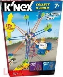 Knex Collect&Build Wesołe Miasteczko Karuzela Ośmiarnica 11743