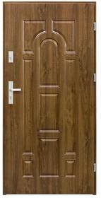 Splendoor Drzwi zewnętrzne  Rubin 80 prawe orzech