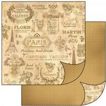 Stamperia Producent papier ScrapArt do scrapbookingu PARIS2 PAPIER SCR