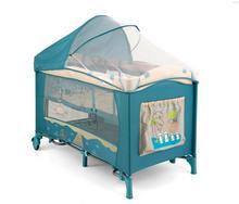 Milly Mally Mirage Deluxe łóżeczko dwupoziomowe Blue Bird