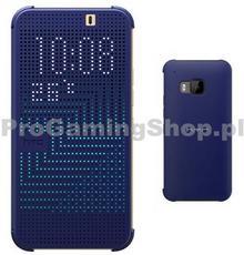 HTC Etui HC M231 Dot View do One M9 Niebieski