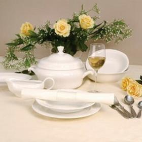 Karolina Zestaw obiadowy dla 12 osób porcelana Castel