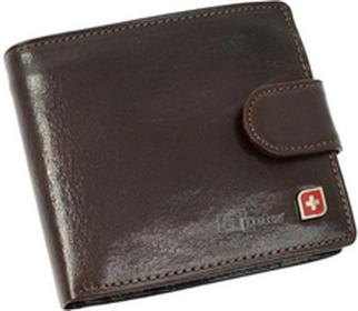 Genevian Luxury Objects 03-2715-04 portfel skóra - brązowy