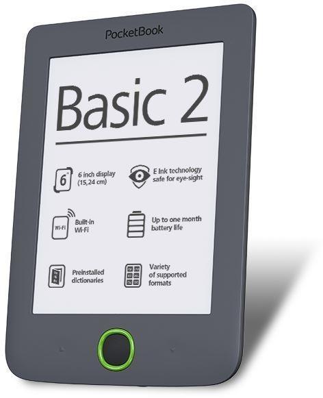 PocketBook 614 Basic 2 szary