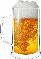 Vialli Design Kufel do piwa z podwójną ścianką 500 ml - Amo 1228