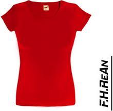 Koszulka Lady-Fit Valueweight 61-372-0 165g CZERWIEŃ