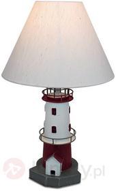 Sea-Club Czerwona latarnia morska - lampa stołowa PIET