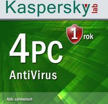 Kaspersky Lab Anti-Virus 2017 4 PC Win