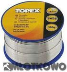 TOPEX Lut cynowy 60% Sn. drut 0.7 mm. 100 g 44E512
