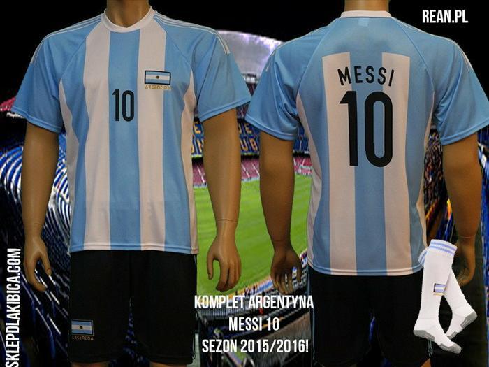 abe2208ba KOMPLET MESSI ARGENTYNA SPODENKI koszulka GETRY – ceny, dane techniczne, opinie  na SKAPIEC.pl
