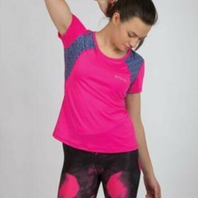 Spokey Koszulka fitness Rain rozm S różowa