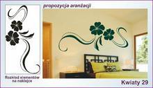 Naklejka Kwiaty, Ornamenty nr 29