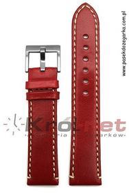 Diloy Pasek 373/06/18 - czerwony 373/06 /18