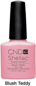 CND Shellac Lakier Hybrydowy Blush Teddy Blush Teddy