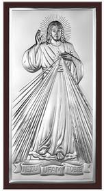 Beltrami Obrazek Jezus w ciemnej oprawie (BC#6443WM)