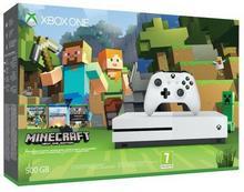Microsoft Xbox One S Biały 500GB + Minecraft Xbox One Edition Favorites