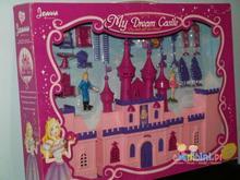 Gazelo Toys ZAMEK PAŁAC DLA LALEK + AKCESORIA Figurki - Joanna Princess