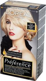 Loreal Recital Preference Y 9 Hollywood Bardzo Jasny Blond