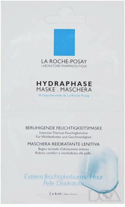 La Roche-Posay Hydraphase Maseczka nawilżająca 2szt.