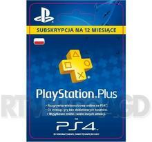 Sony Sony Subskrypcja Playstation Plus 12 M-Ce Kod Aktywacyjny Dostęp Po Opłaceniu Zakupu