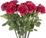 Opinie o Róża ciemno-różowa 88cm 6585