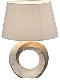 Globo Lighting Abażurowa LAMPA stołowa JEREMY 21641T ceramiczna stojąca LAMPKA nocna