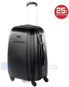 Puccini Duża walizka LIZBONA ABS02A 1 Czarna - czarny