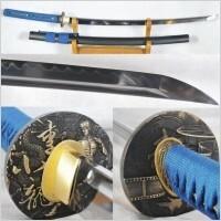 Kuźnia mieczy samurajskich Katana JAPOŃSKA O-Kissaki stal 1095 hartowana glinką