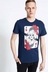 adidas T-shirt France Card granatowy AI5622