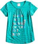 Roxy t-shirt dziecięcy DREAMIN C BLK0