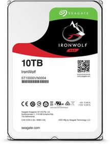 Seagate Dysk IronWolf, 3.5, 10TB, SATA/600, 7200RPM, 256MB cache ST10000VN0004