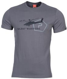 Pentagon T-shirt T-Shirt Helicopter - Wolf szary (K09012-08WG)