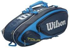 Wilson Torba tenisowa Tour V 9 Pk - blue