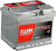Fiamm Titanium PRO 12V 50Ah 520A (EN) P+