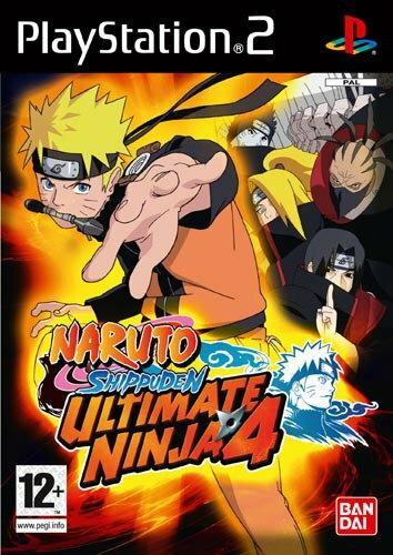Naruto Ultimate Ninja 4 PS2