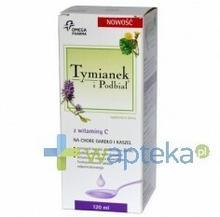 Omega Pharma Tymianek i Podbiał  z witaminą C 120 ml