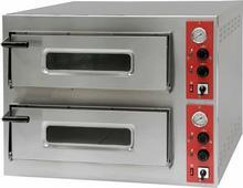 Stalgast Piec do pizzy 2-komorowy 8 x pizza 32 cm | , 781024