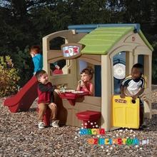 Step2 Domek ze zjeżdżalnią dla dzieci (nowy kolor) STEP 2 8510