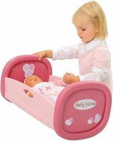 Smoby Baby Nurse Kołyska 2012 łóżeczko dla lalki 24700