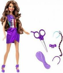 Mattel Barbie Lalka ze skracanymi włosami W3911