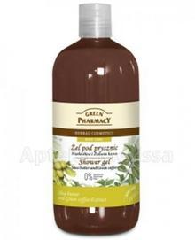 Green Pharmacy PHARM POLSKA żel pod prysznic masło shea i zielona kawa - 50