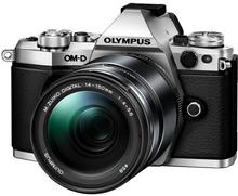 Olympus OM-D E-M5 Mark II + 14-150 II kit + HLD 8 srebrny