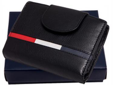 Loren portfel skóra N26 NYC C Mały i pojemny portfel skórzany w pudełku. Swoi
