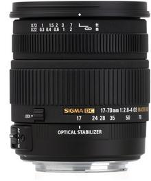 Sigma 17-70mm f/2.8-4.5 DC Macro OS HSM Nikon